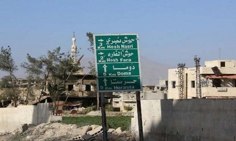 الجيش السورى يتقدم فى عدة محاور فى الغوطة الشرقية