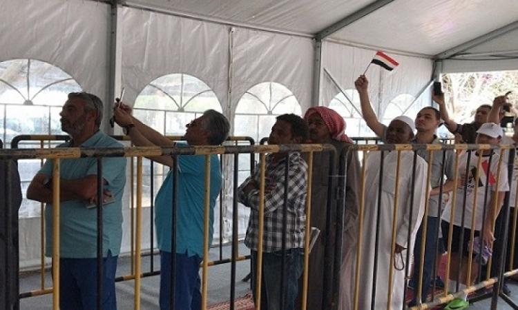 المصريون فى الخارج يواصلون الاقتراع فى اليوم الثانى للانتخابات الرئاسية