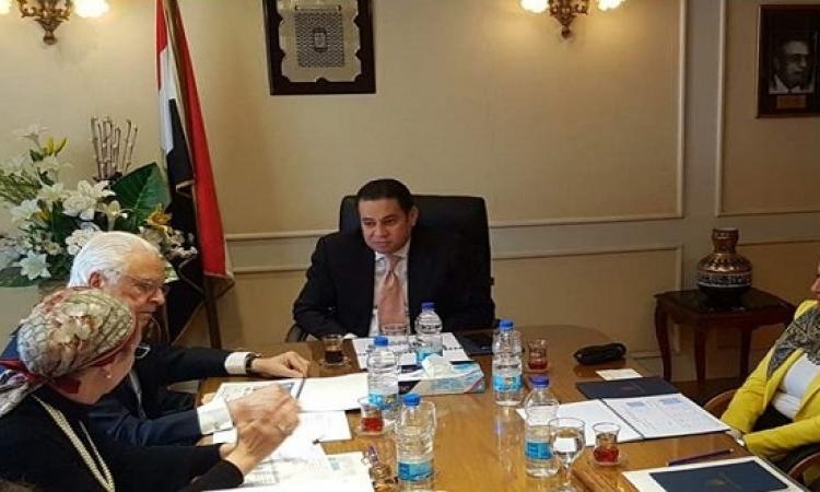 وزير قطاع الأعمال يبحث مع زيادة الاستثمارات مع كونكورد