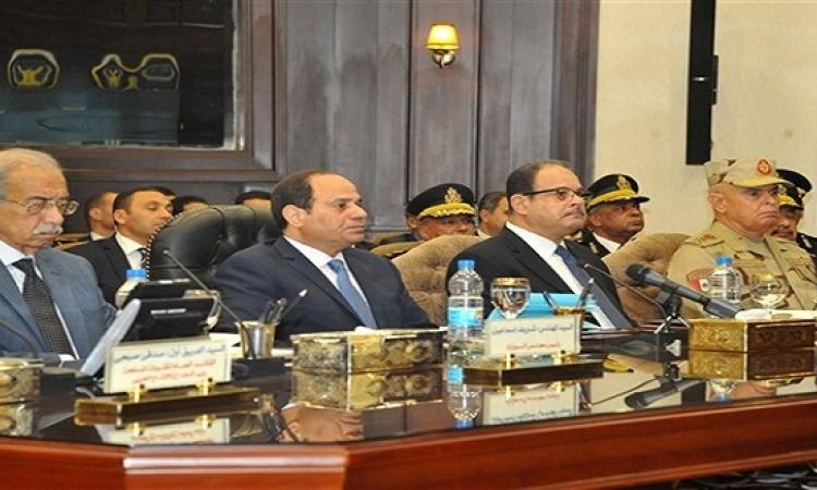 وزير الداخلية فى كلمته أمام السيسى: انخفاض العمليات الإرهابية بنسبة 85%