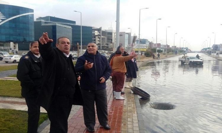 """القاهرة الجديدة تغرق فى """" شبر ميه """" .. والأزمة تصل البرلمان !!"""