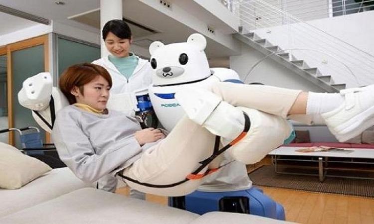 روبوتات اليابان ترعى المسنين