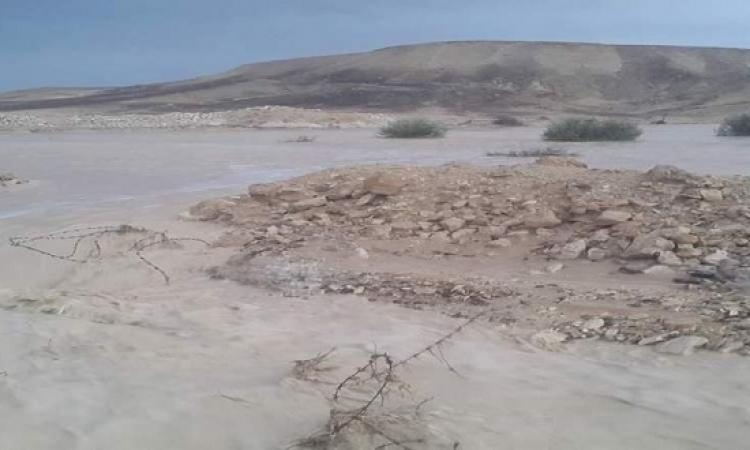 طوارئ بوسط سيناء بعد تحرك السيول