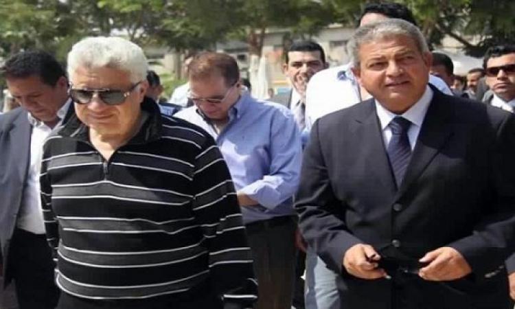 مرتضى لخالد عبد العزيز بمجلس الدولة : انت ظلمت الزمالك .. وانا دعيت عليك !!