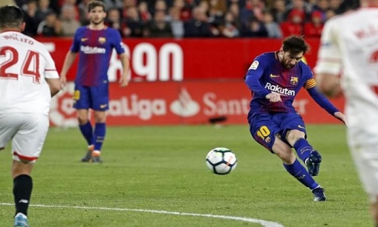 برشلونة يسعى لتجنب سيناريو أشبيليه أمام روما فى التشامبيونزليج