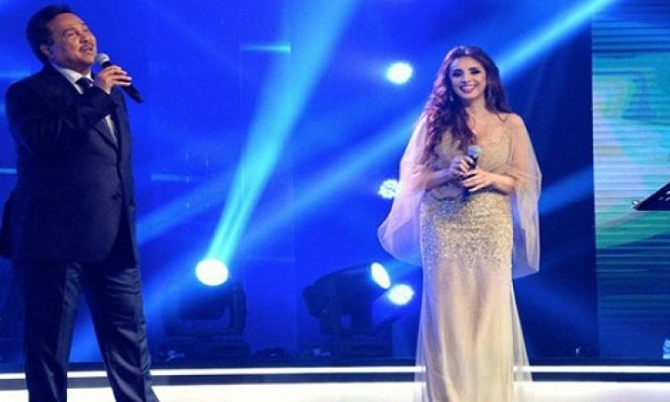 محمد عبده وأنغام على المسرح الكبير بدار الأوبرا المصرية