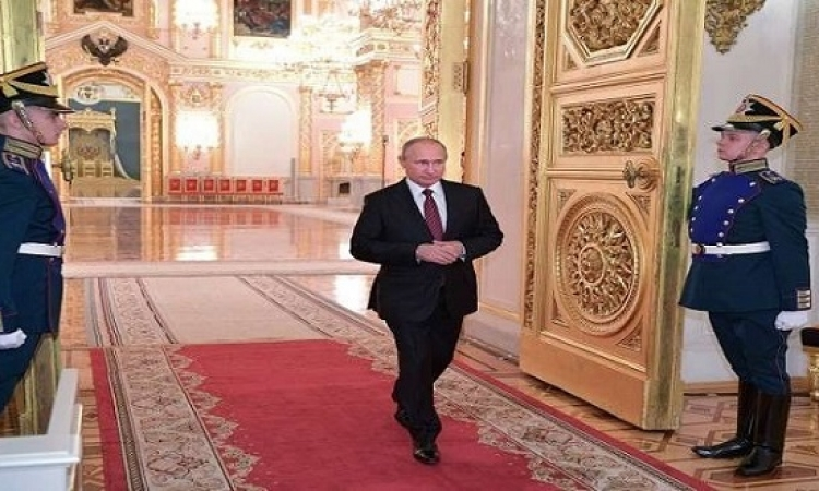 حفل تنصيب بوتين في الكرملين ظهر اليوم لولاية رئاسية رابعة
