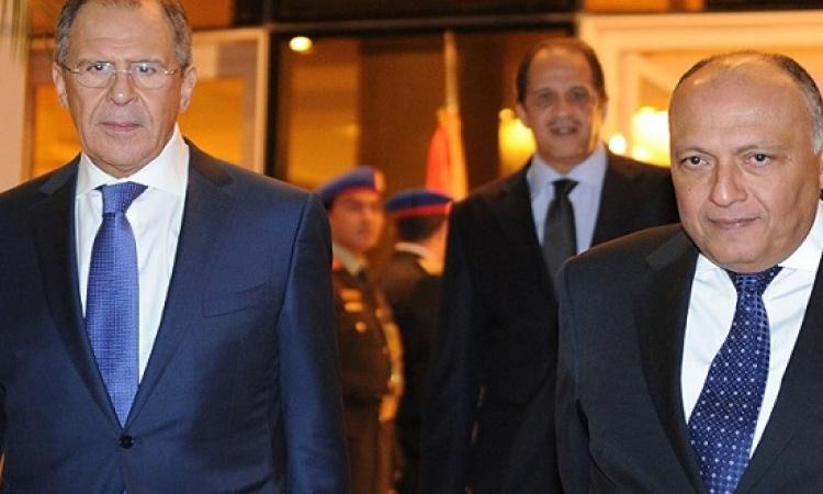 شكري في روسيا : إرسال قوات مصرية لسوريا غير مطروح راهناً