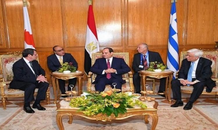 المتحدث باسم الرئاسة : قمة ثلاثية جديدة بين مصر واليونان وقبرص قريباً