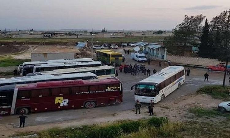 وصول 42 مخطوفاً من كفريا والفوعة إلى جنوب حلب
