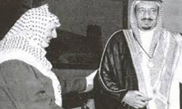 قبل 30 عاما .. ياسر عرفات يقلد خادم الحرمين الشريفين قلادة القدس