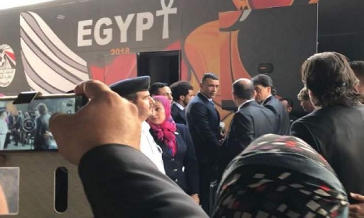 بعثة المنتخب الوطنى تغادر إلى روسيا للمشاركة فى كأس العالم