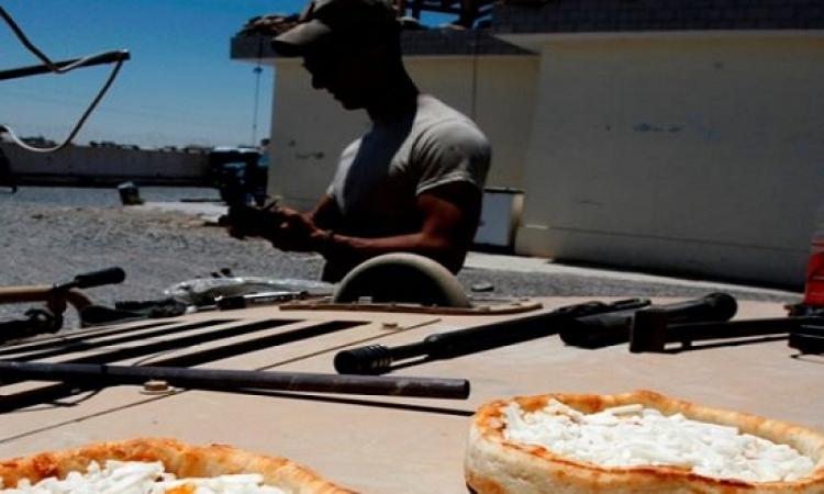 بعد 30 سنة .. الجيش الأمريكى يوافق على تقديم بيتزا للجنود