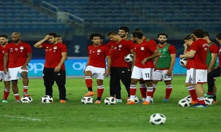 منتخب مصر يتدرب فى النيجر قبل السفر إلى نيجيريا