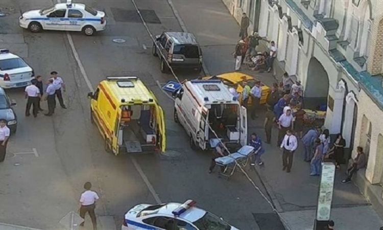إصابة 8 أشخاص بحادث دهس وسط موسكو
