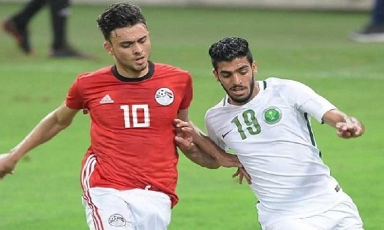 المنتخب الأوليمبي يفوز على الجزائر 2 /1 فى اولى لقاءاتهما الودية