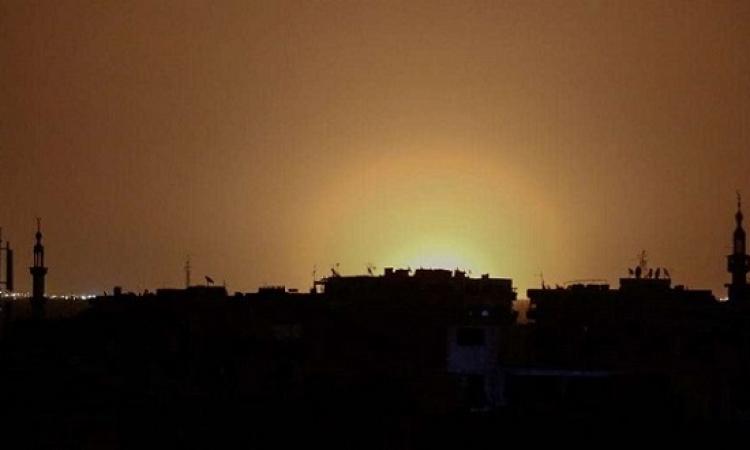 التليفزيون السورى : سقوط صاروخين إسرائيليين في محيط مطار دمشق الدولي