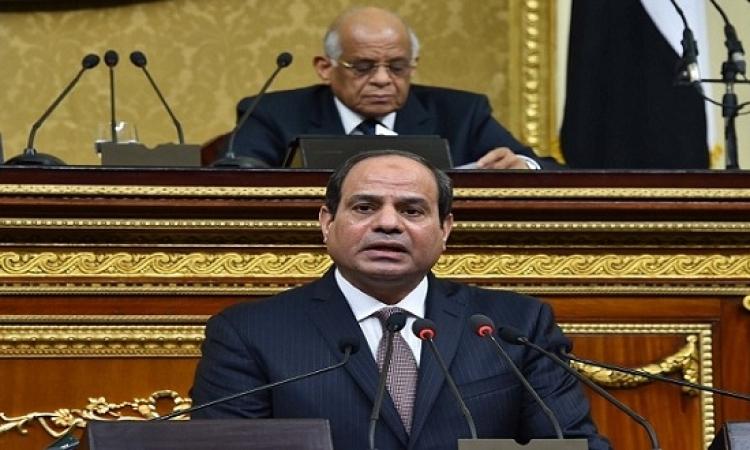 تعهدات السيسى لولايته الثانية بعد اداءه اليمين الدستورية