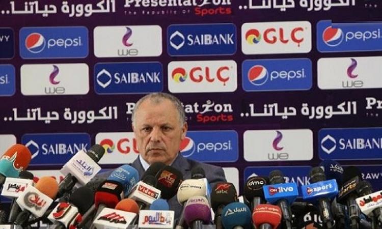 أبوريدة فى مؤتمر صحفى : استقالة اتحاد الكرة غير مطروحة