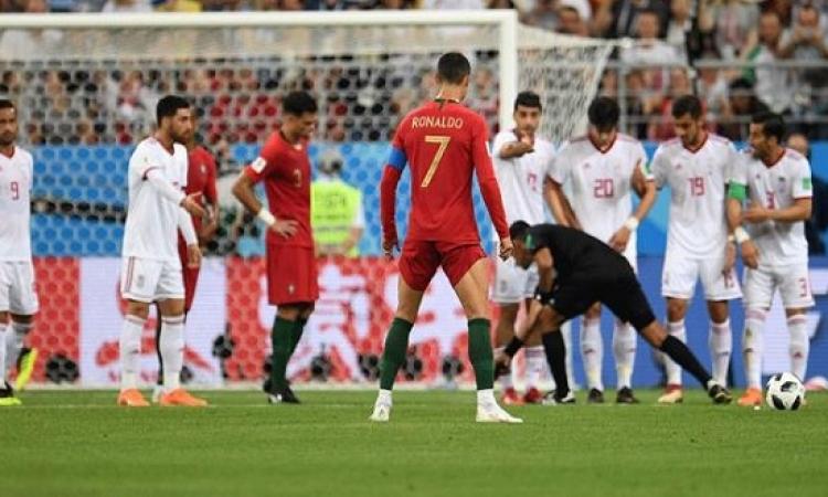 إيران تخطف التعادل مع البرتغال وتودع المونديال