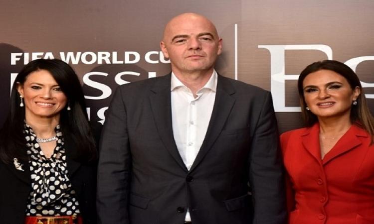 """مصر توقع عقد رعاية مع """"الفيفا"""" في كأس العالم"""