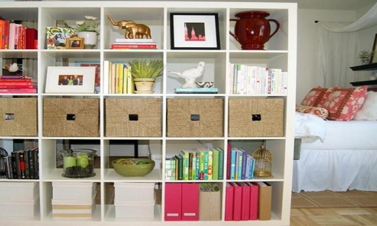 أفكار مبتكرة للتخزين فى المنزل الضيق