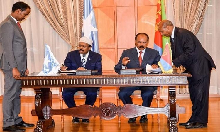 نقلة نوعية للعلاقات الصومالية الأريترية .. على خطى المصالحة الإثيوبية الأريترية