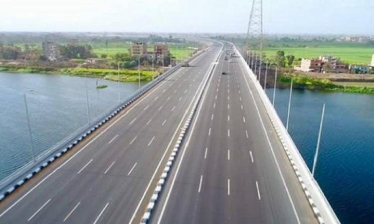 وزراء النقل والانتاج الحربى والتخطيط يتفقدون أعمال الطريق الدائرى الإقليمى