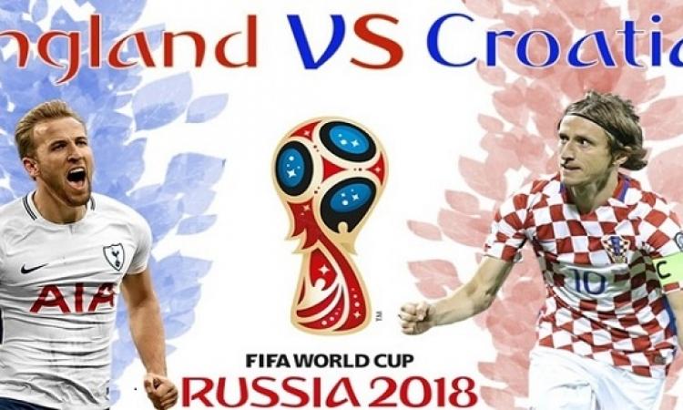 إنجلترا تسعى لاستعادة الزعامة أمام كرواتيا الباحثة عن كتابة التاريخ