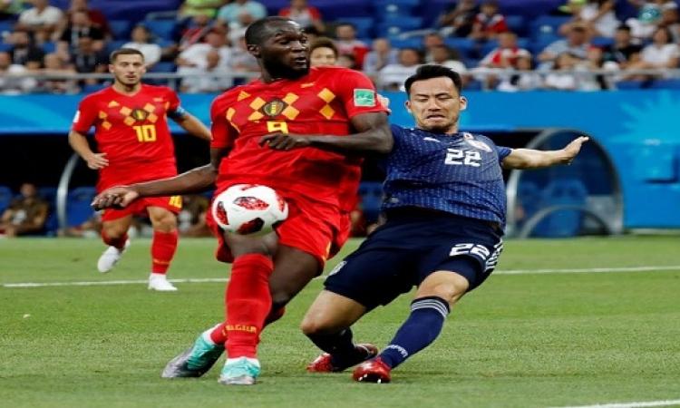 بلجيكا تصعد لدور الثمانية على حساب اليابان