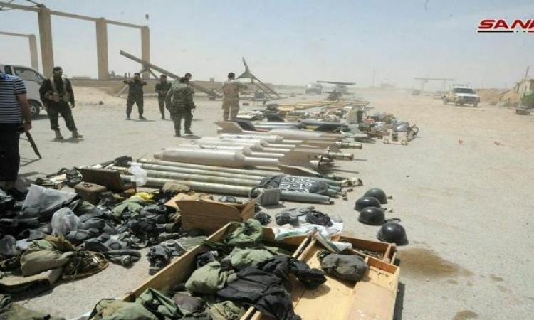 المجموعات المسلحة تبدأ بتسليم أسلحتها للجيش السورى فى درعا