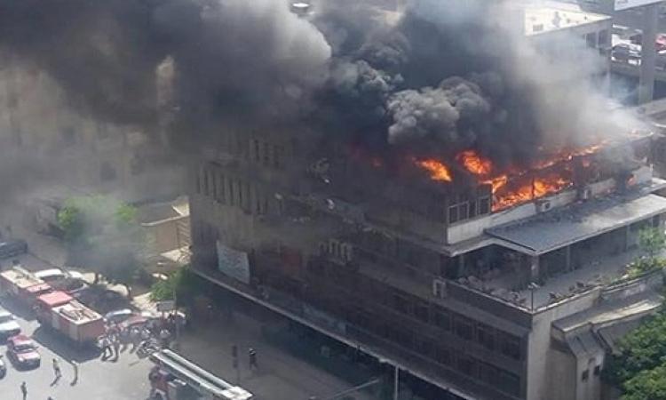 نقابة التجاريين بالقاهرة توضح حجم وأسباب حريق مقرها برمسيس