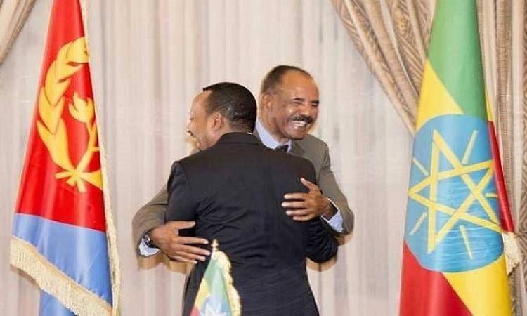 رئيس إريتريا يصل إثيوبيا فى زيارة تاريخية فى اطار التقارب بين البلدين