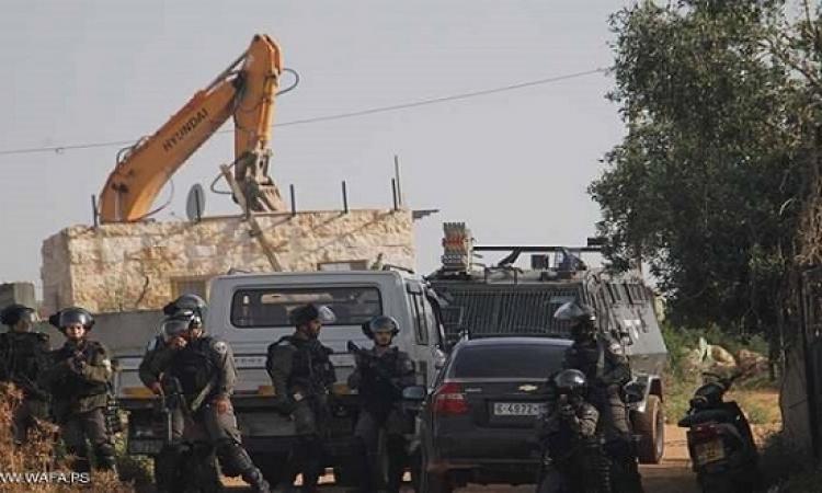 إسرائيل تشرع فى هدم قرية فلسطينية قرب القدس
