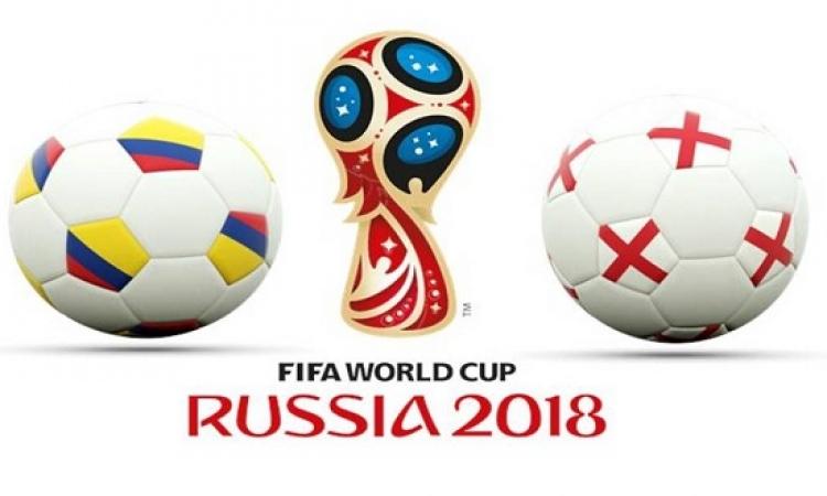 كولومبيا تصارع إنجلترا على تذكرة ربع نهائى المونديال
