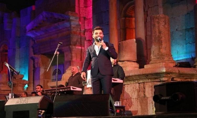 بالفيديو والصور .. أسرار نجاح ليلة الفنان العراقي محمد الفارس في مهرجان جرش ٢٠١٨