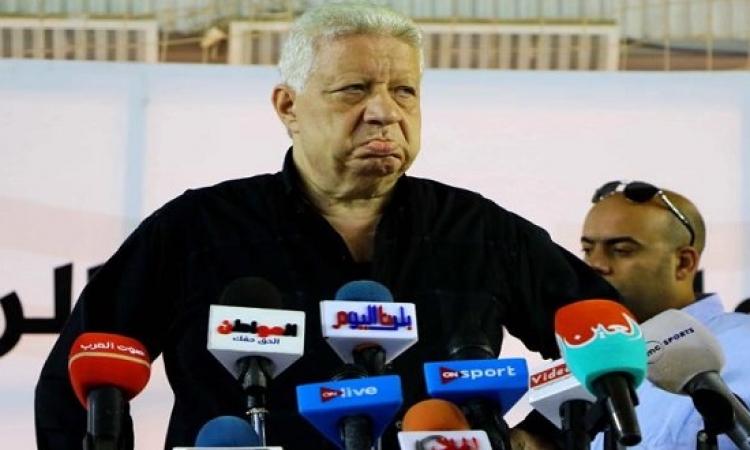 اللجنة الاوليمبية توقف مرتضى منصور عامين وتبدأ إجراءات اسقاط عضويته