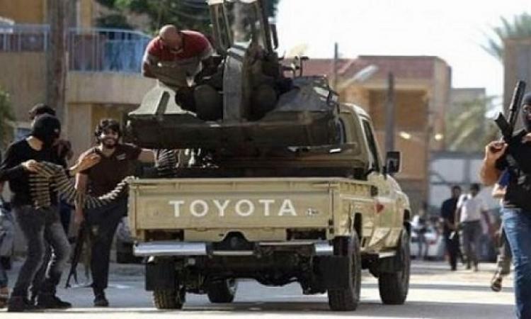هجوم مسلح على مركز للشرطة فى إجدابيا الليبية