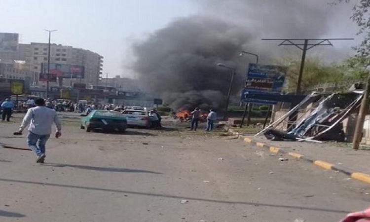 مصدر أمنى : ماس كهربائي تسبب في انفجار سيارة بمطلع كوبري أكتوبر بالدقي