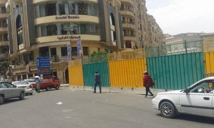 المرور تغلق شارع 26 يوليو لاستكمال أعمال المرحلة الثالثة للمترو