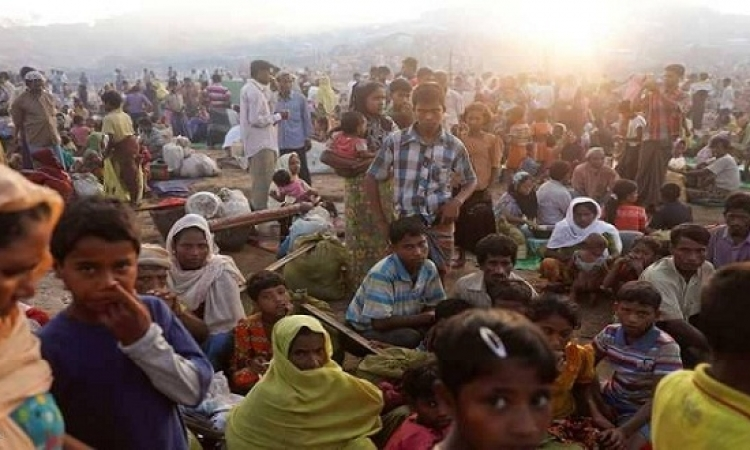 آلاف الروهينجا يتظاهرون قى بنجلاديش طلبا للعدالة
