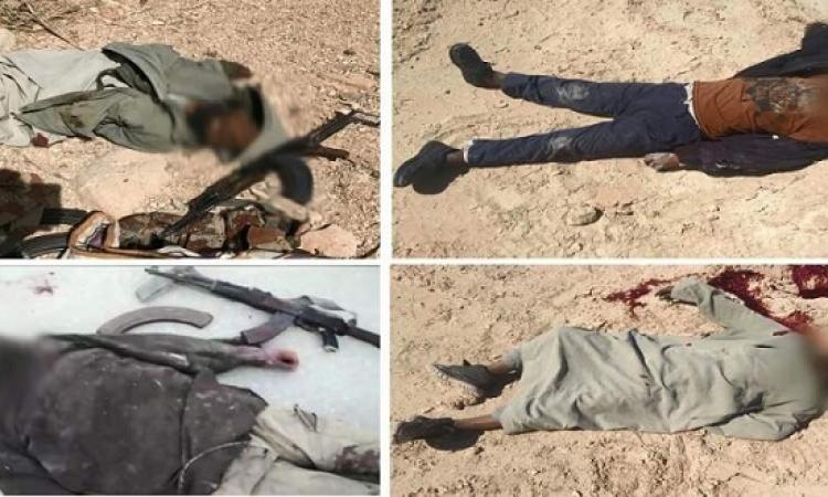 بالفيديو .. القوات المسلحة تعلن تصفية 52 تكفيريا وتفجير 64 عبوة ناسفة