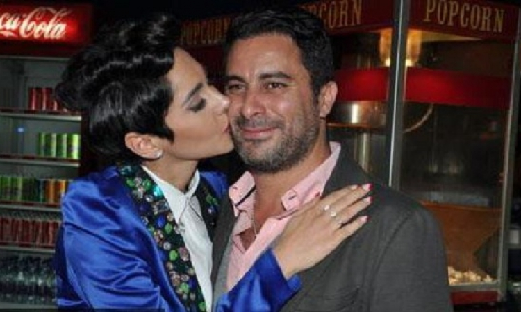 ياسمين رئيس لهادى الباجورى : سلامتك يا حبيبى