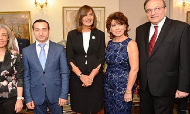 نبيلة مكرم: المصريون الأرمن سيتبرعون بمليون جنيه للمستشفى الأميرى