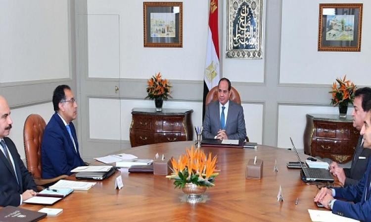 الرئيس يوجه بمواصلة الجهود للارتقاء بالجامعات المصرية والبحث العلمى