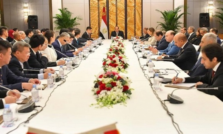 18.3 مليار دولار استثمارات مشروعات مصرية ـ صينية جديدة