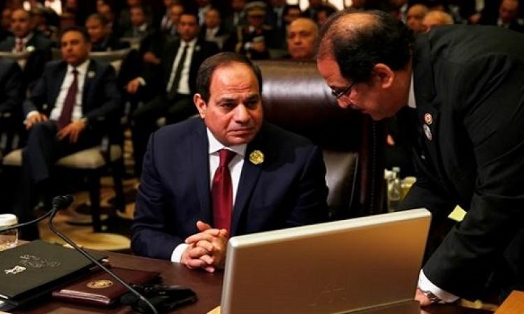 السيسى يستعرض رؤية مصر لتفعيل التعاون الأفريقى الصينى فى كلمته أمام منتدى بكين