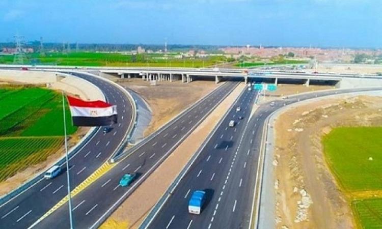 السيسى يفتتح مشروعات محاور النيل وعددًا من الطرق والكبارى