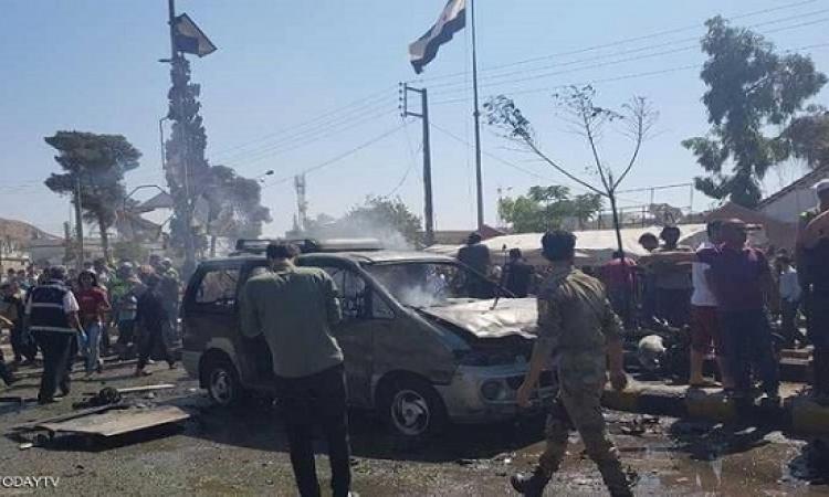 قتلى بانفجار سيارة مفخخة في مدينة أعزاز بريف حلب