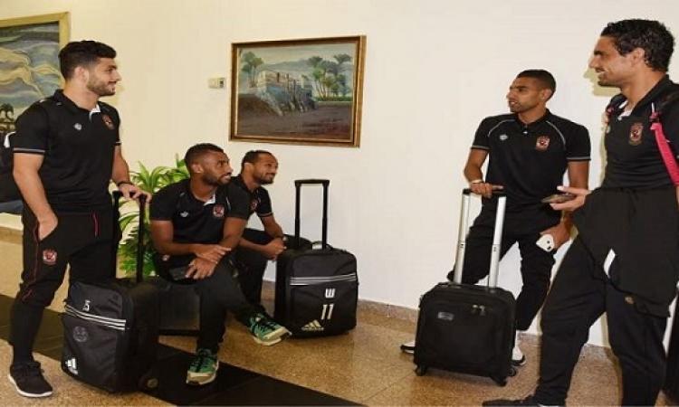 بعثة الأهلى تتوجه إلى تونس استعداداً للقاء الترجى فى إياب نهائى دورى أبطال أفريقيا